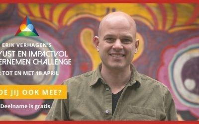 Bewust & Impactvol ondernemen Challenge